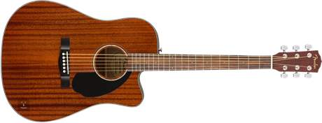 FENDER CD-60SCE ALL MAH Gitara elektroakustyczna