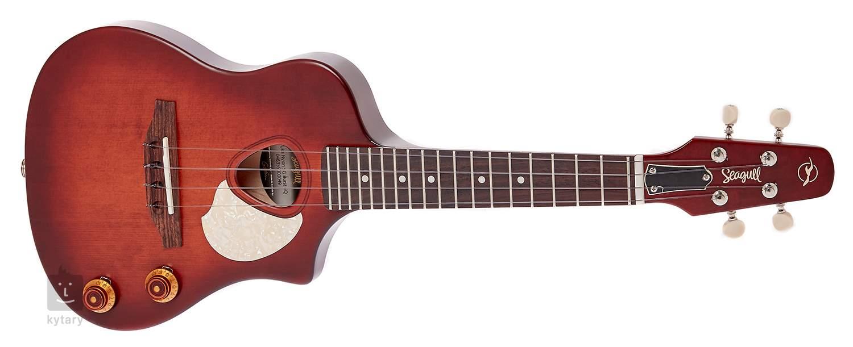 seagull uke nylon sg burst eq ukulele elektroakustyczne