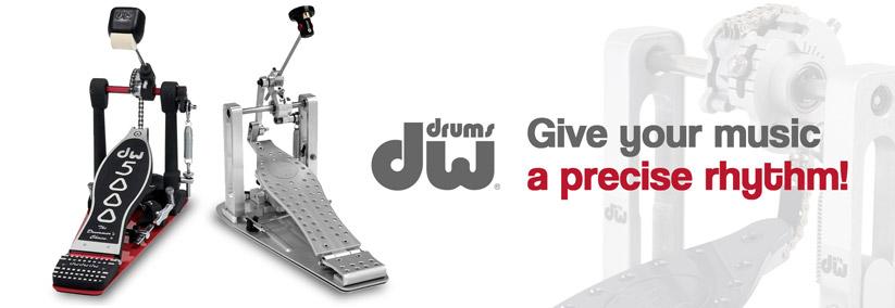DW pedals