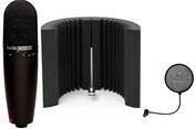 CMH8BH + suport microfon cu suspensie + paravan acustic + K&M pop filter CADOU