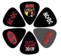 PERRI'S LEATHERS AC/DC Picks I