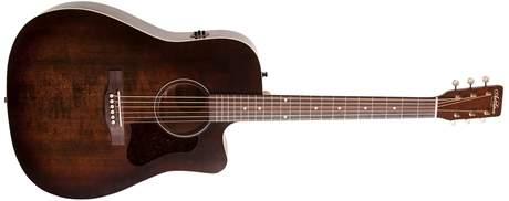 ART & LUTHERIE Americana Bourbon Burst CW QIT Elektroakustická kytara