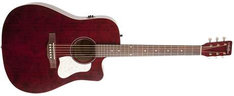 ART & LUTHERIE Americana Tennessee Red CW QIT Chitară electro-acustică