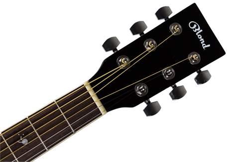 BLOND DN-1 BK Chitară acustică