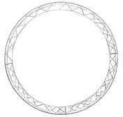 Circle 2m section 1570mm, silver