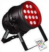 LED PAR-64 QCL 12x 10W IR, DMX