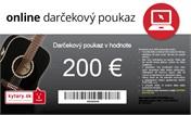 Darčekový poukaz v hodnote 200 EUR