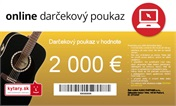 Darčekový poukaz v hodnote 2 000 EUR
