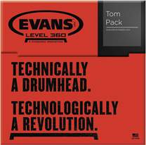 EVANS EC2S Clear Rock set