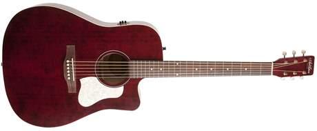ART & LUTHERIE Americana Tennessee Red CW QIT Elektroakustická gitara