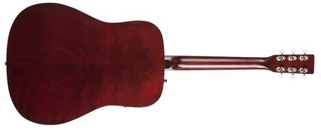 ART & LUTHERIE Americana Tennessee Red QIT Elektroakustická gitara