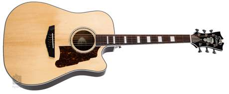 D'ANGELICO Premier Bowery Natural Elektroakustická gitara