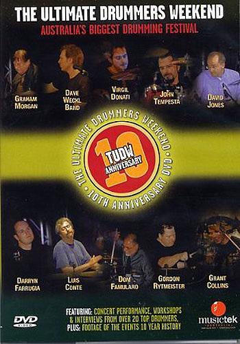 MS Ultimate Drummers Weekend 10 Anniversary DVD