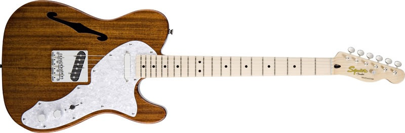 Fender Squier Classic Vibe Telecaster Thinline MN NA
