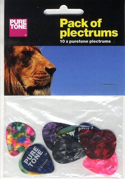 MS Pure Tone Pack Of Plectrums
