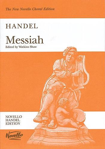 MS G.F. Handel: Messiah (Watkins Shaw) - Paperback Edition Vocal Score