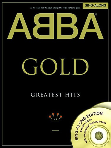 MS ABBA: Gold - Greatest Hits Singalong PVG (Book and 2 CDs)