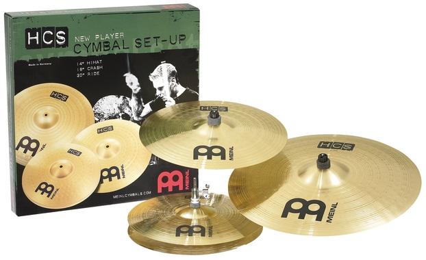 Meinl HCS141620 HCS Standard Set