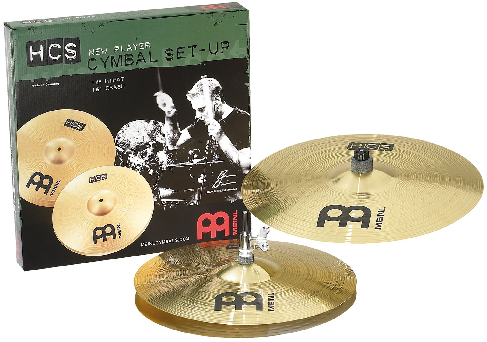 Meinl HCS1416 HCS Rock Set
