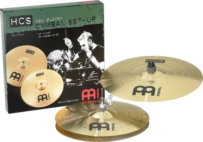 Meinl HCS1418 HCS Rock Set