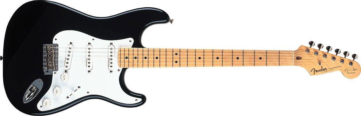 Fender Eric Clapton Stratocaster MN BK