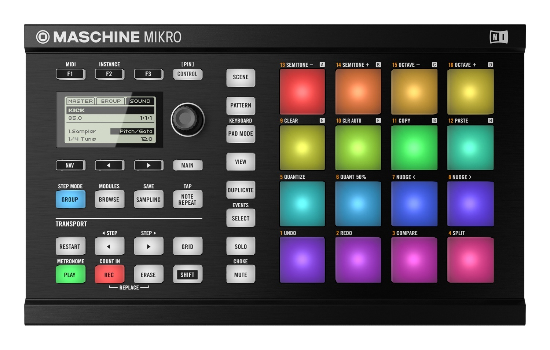 Native Instruments Maschine Mikro MK2 BK