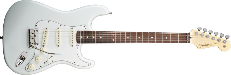 Fender Jeff Beck Signature Stratocaster RW OW