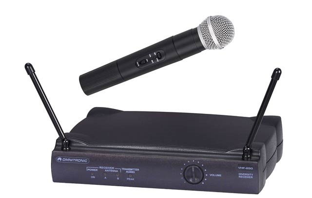 Omnitronic VHF-250 214.000 MHz