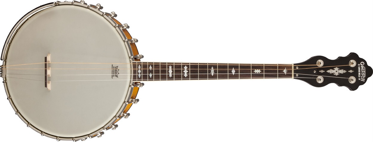 Gretsch G9480 Laydie Belle 17 Fret Irish Tenor Banjo
