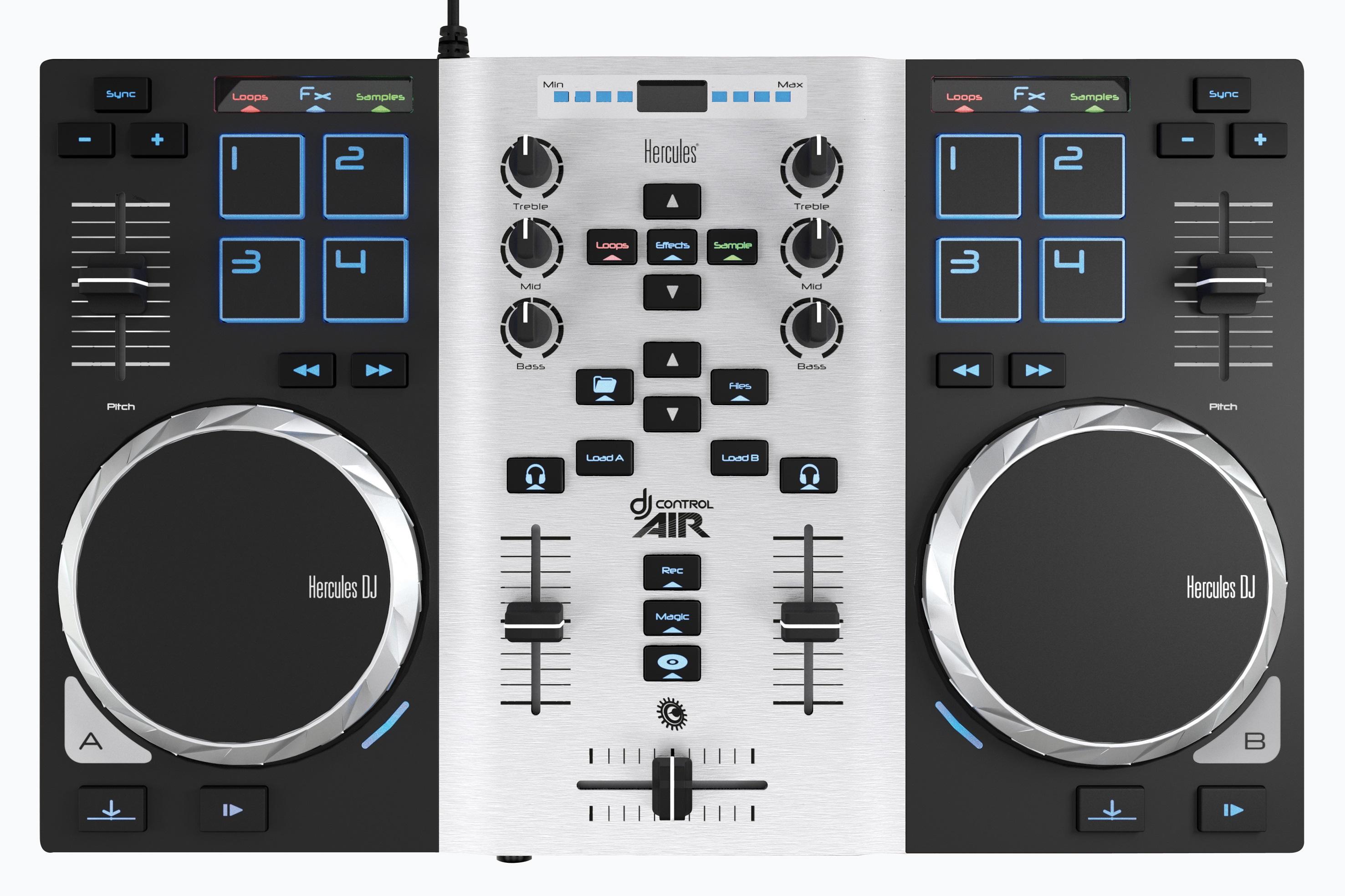 Hercules DJ Air S + DJ sluchátka M40.1