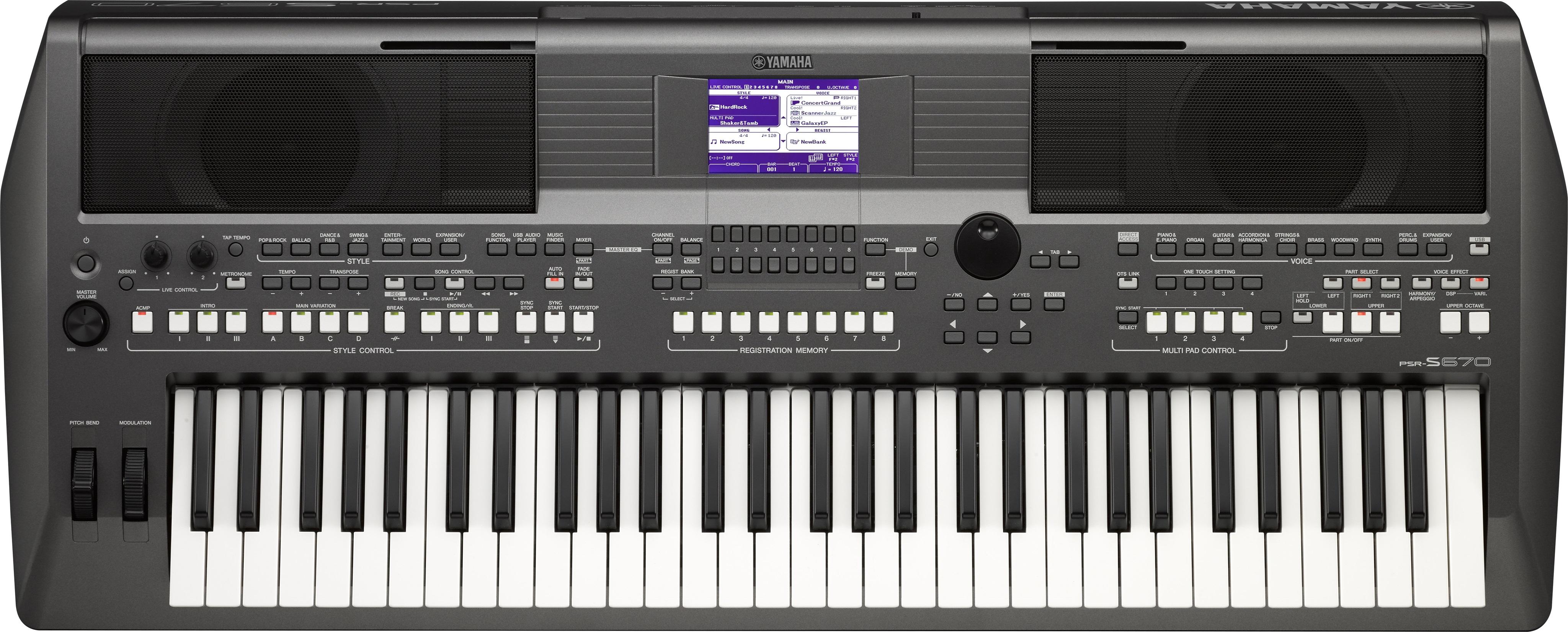Yamaha PSR-S670