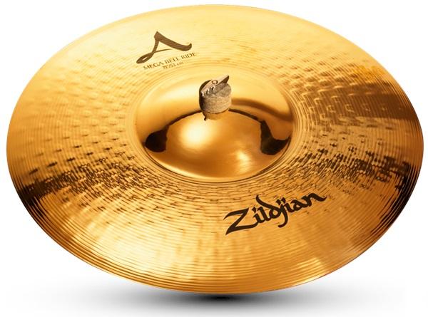 """Zildjian 21"""" A mega bell ride brilliant"""