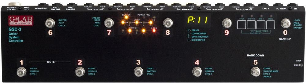 G-Lab Guitar System Controller GSC-3