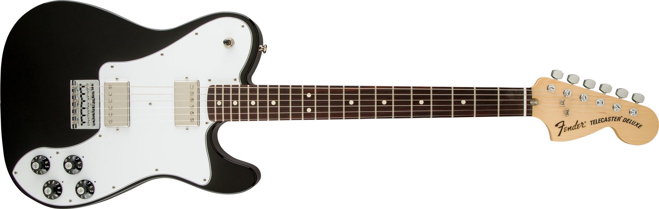 Fender Chris Shiflett Telecaster Deluxe RW BLK