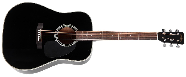Sigma Guitars DM-1ST-BK