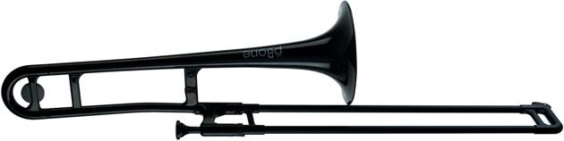 pBone Plastic Trombone Black