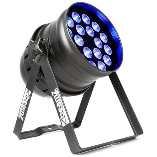 BeamZ LED PAR 64 RGBAW, 18x 15W, IR, DMX