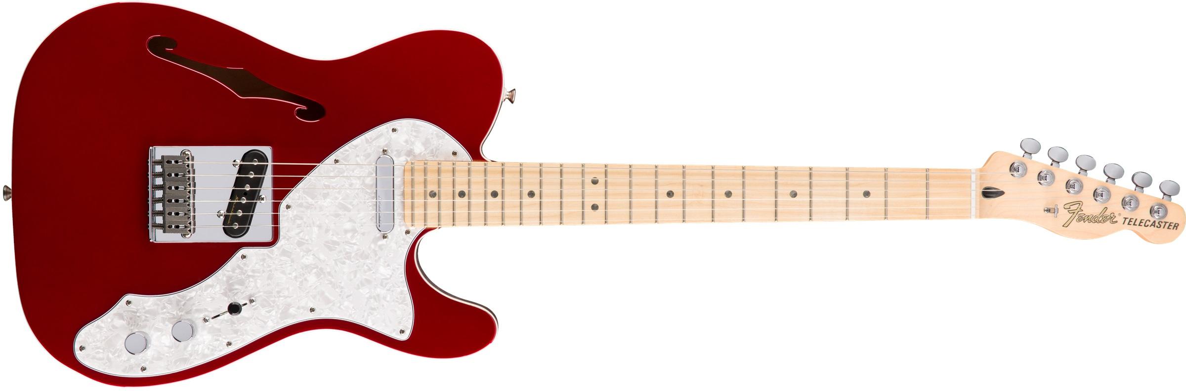 Fender Deluxe Telecaster Thinline MN CAR