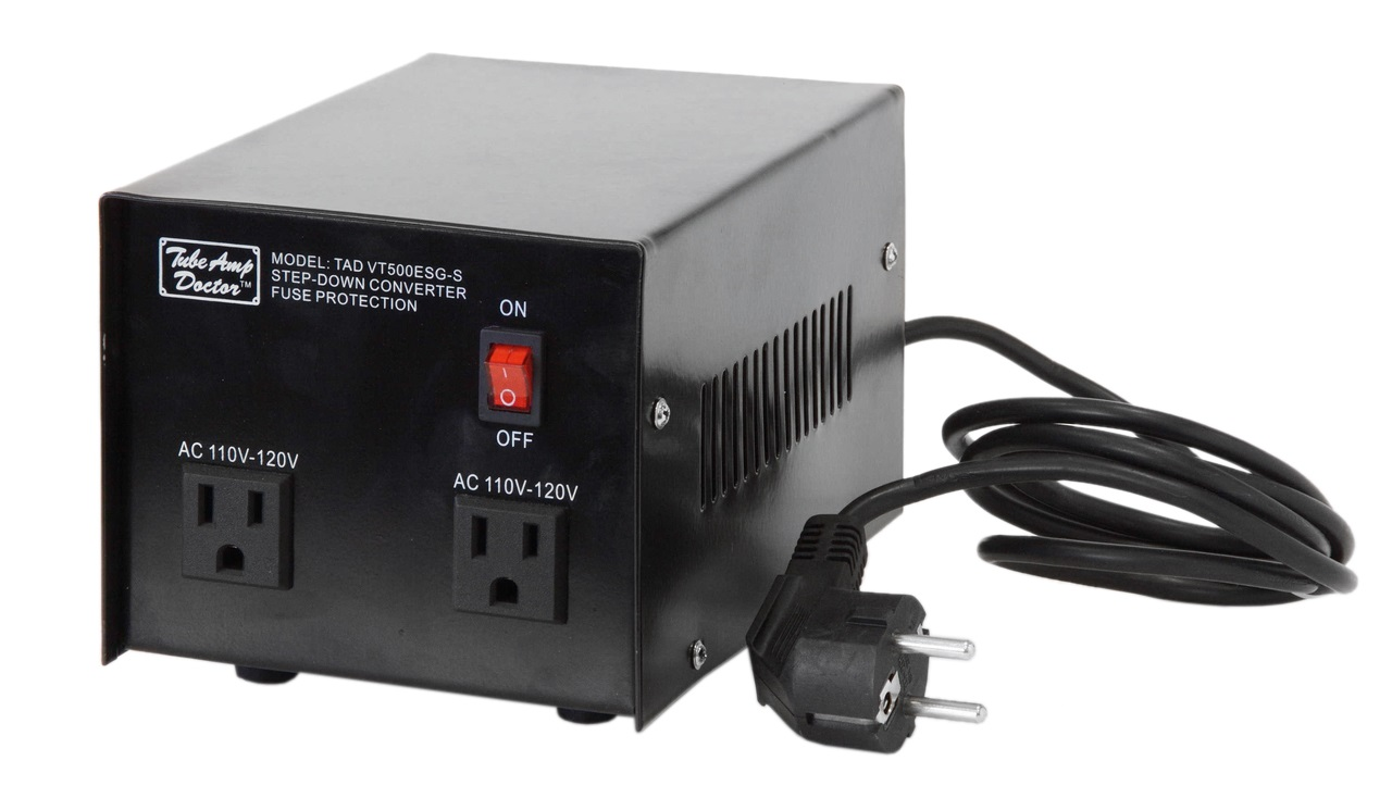 Tube Amp Doctor TAD Step-Down transformer with enclosure 500W