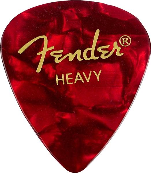 Fender Heavy Red Moto