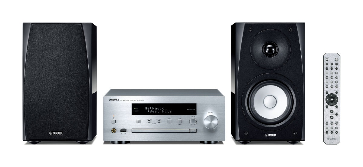Yamaha MCR-N570 SILVER
