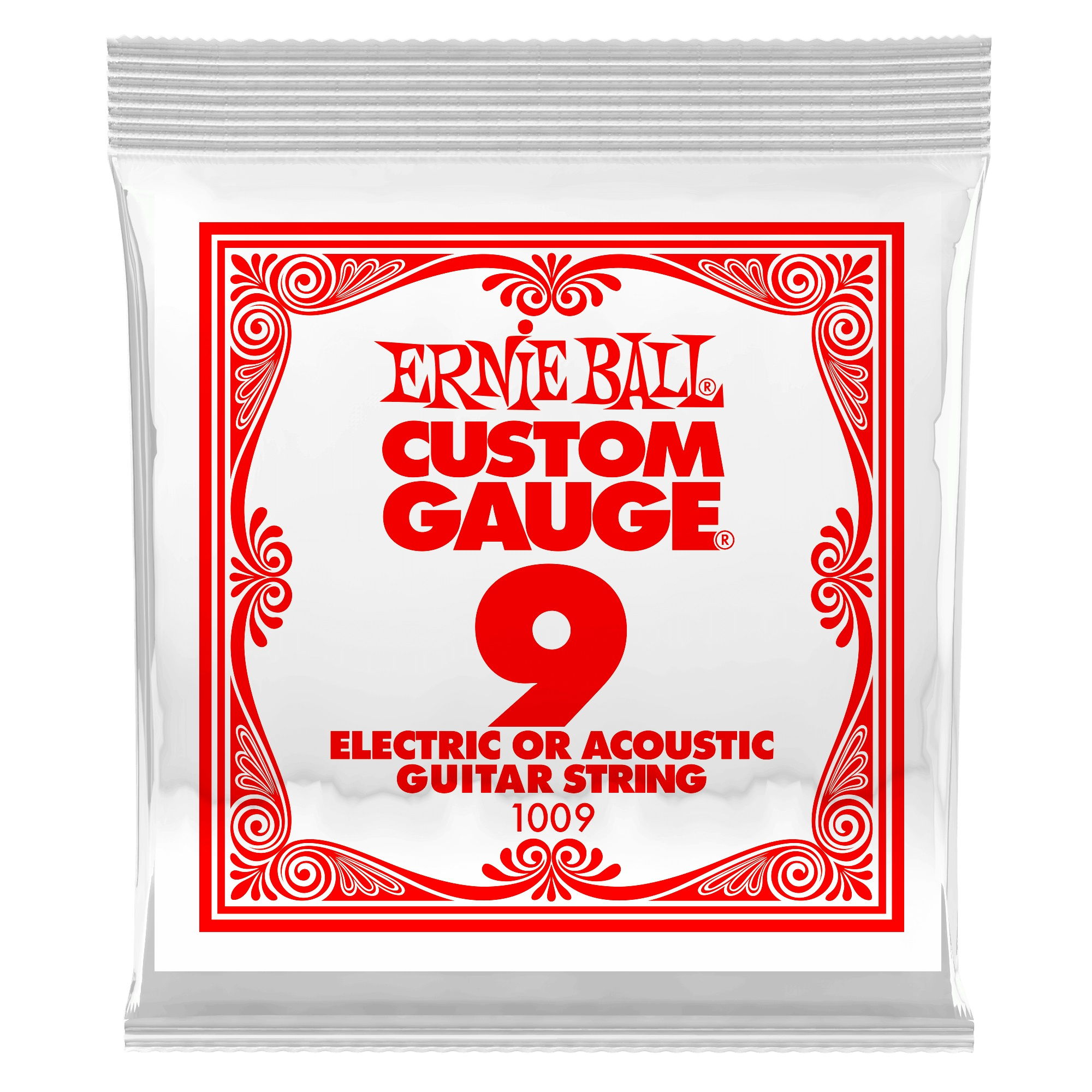 Ernie Ball Plain Steel Single .009