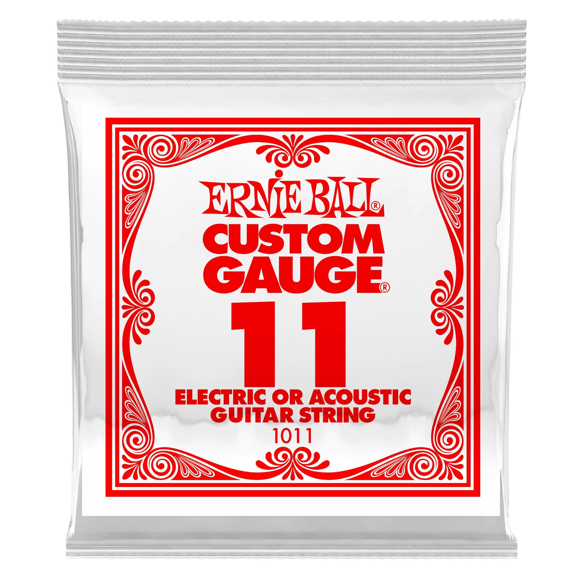 Ernie Ball Plain Steel Single .011