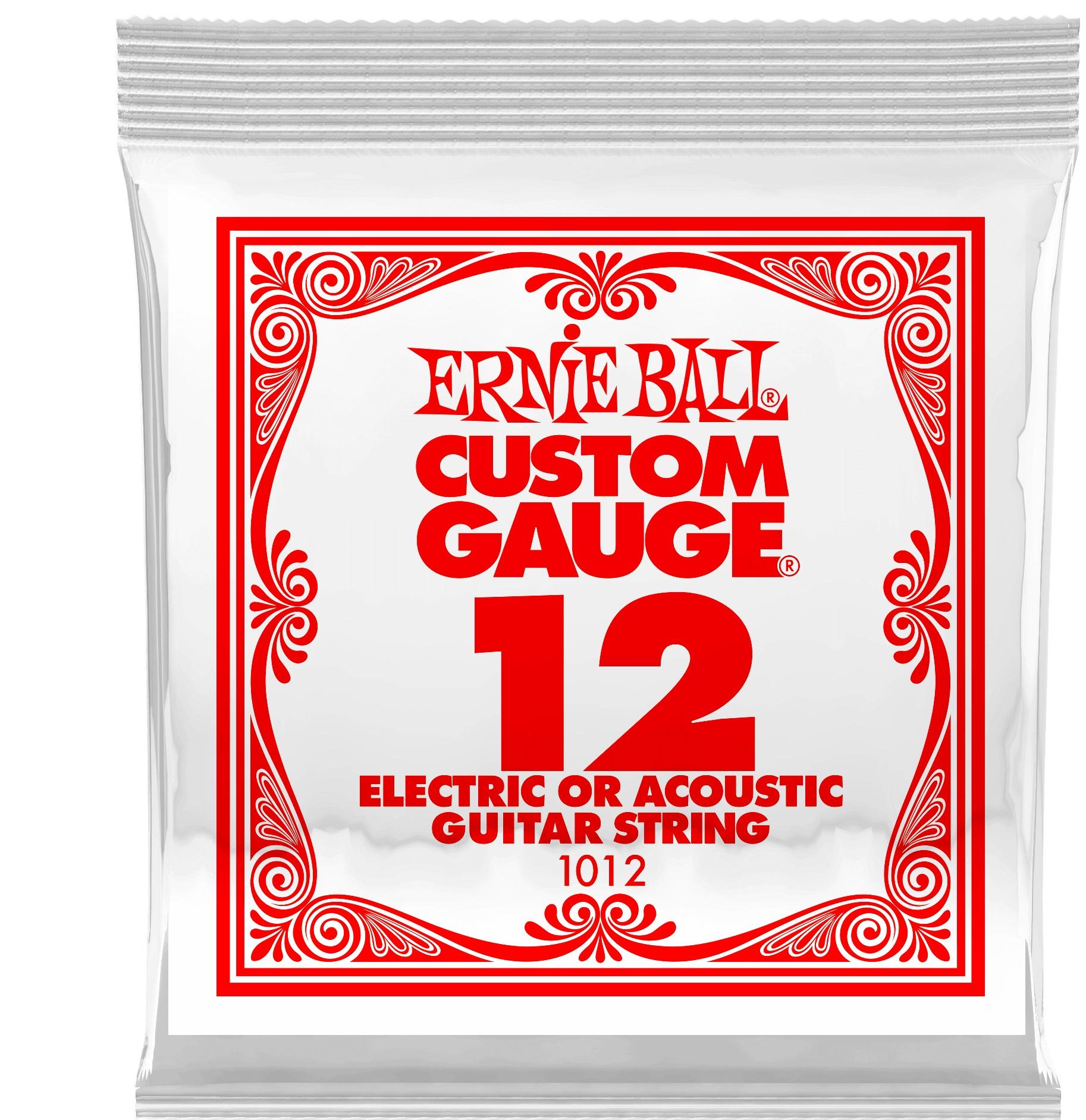 Ernie Ball Plain Steel Single .012