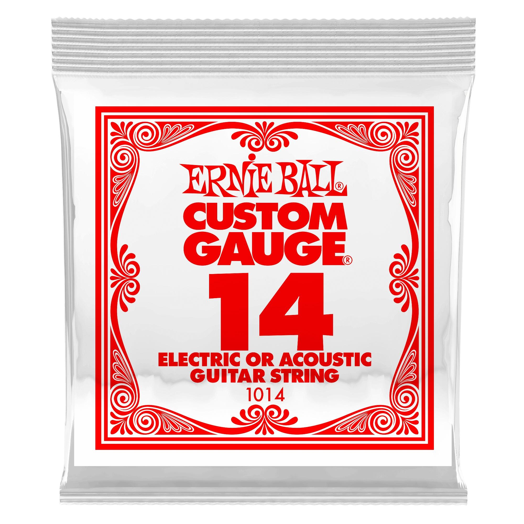 Ernie Ball Plain Steel Single .014