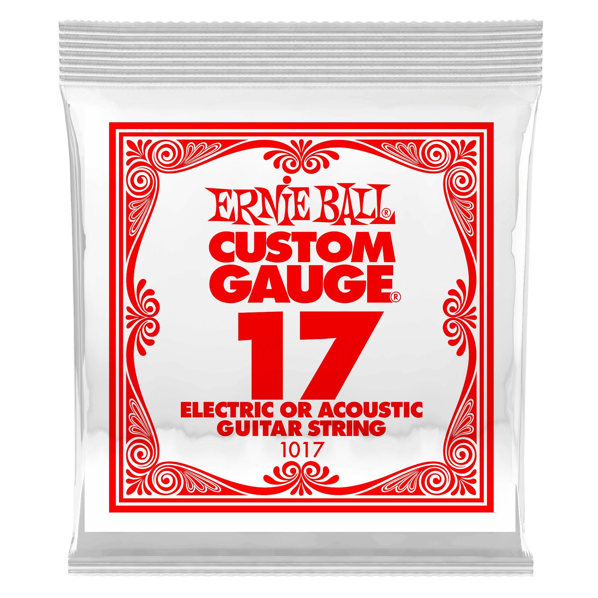 Ernie Ball Plain Steel Single .017