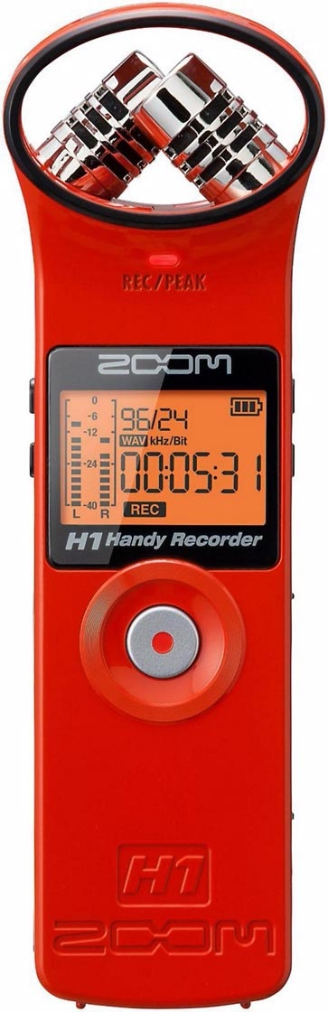 Zoom H1 Red Edition
