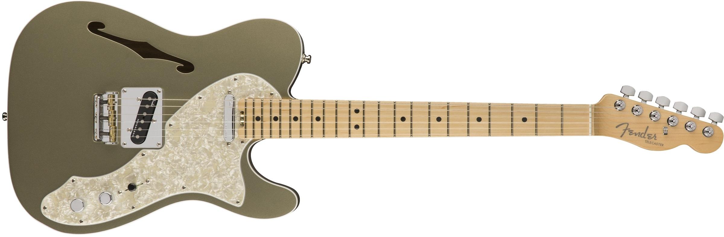 Fender American Elite Telecaster Thinline MN CHMP