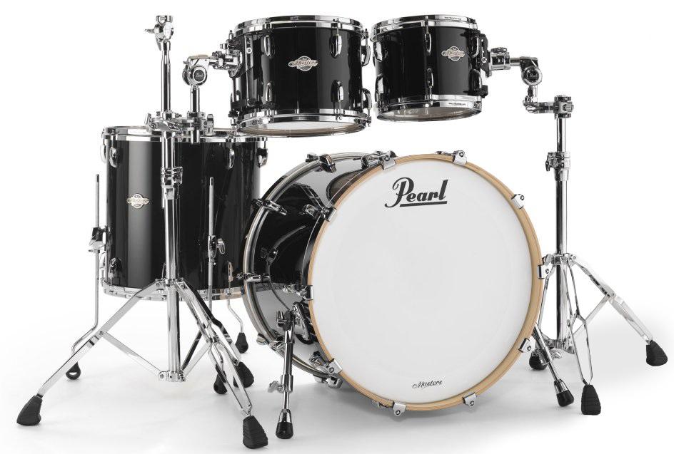 Pearl BCX Masters Piano Black Studio Set
