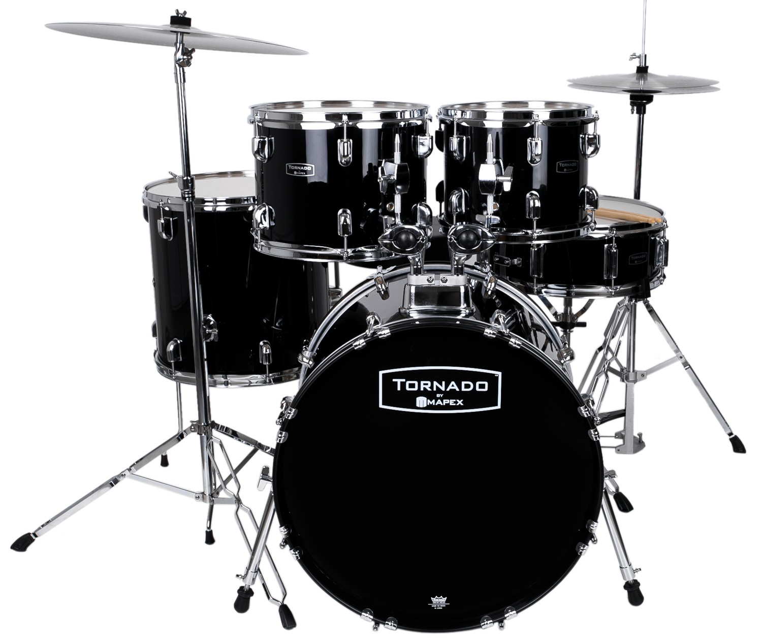 Tornado Rock Set Dark black NEW